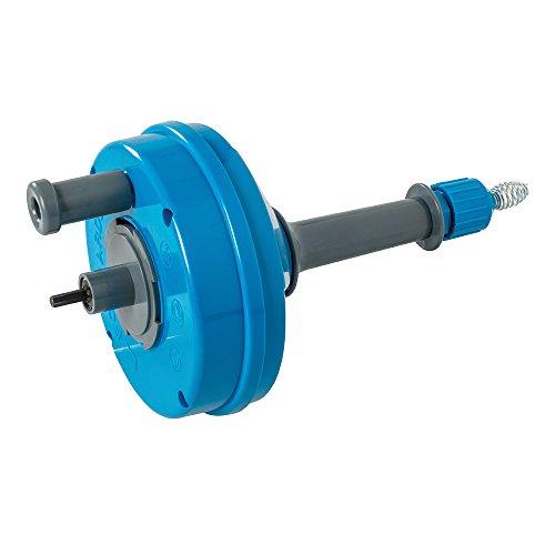 Silverline 987173 Desatascador de desagües para taladros eléctricos, Azul