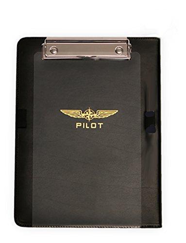 "DESiGN 4 PILOTS Aviation Kneeboard I-Pilot for iPad Generation 2-4 and iPad Air 1- 2, iPad Air Pro 9,7"", and All 9 -10.5"" Tablets, Flight kneeboard"