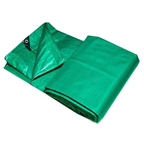 WZNING Sombra Espesa la Tela Impermeable al Aire Libre del Gazebo del pabellón del Techo Protector Solar Camión Durable y Protector (Color : Green, Size : 5MX7M)
