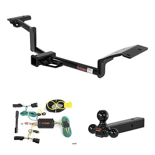 Best Price CURT Trailer Hitch, Wiring & Multi-Ball Ball Mount for 2010-2015 Lincoln MKT