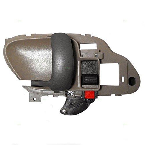 Drivers Inside Inner Tan Door Handle Replacement for Chevrolet GMC Pickup Truck SUV 15708043