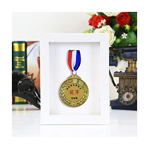 ABCSS Medal Display Stand Marathon Medal Photo Frame Storage Framed Storage Box Display Frame,suitable For Collecting Military Medals And Honor Badges.