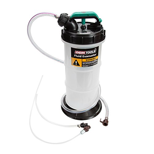 OEMTOOLS 24389 5.3 Liter Oil Extractor, Oil, Transmission, Coolant Change Tool, Easy-to-Use Hand Pump, Extract Fluid Through Dipstick Tubes, No Mess