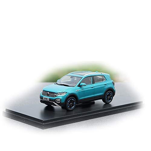 DXZJ 1:43 para VW TACQUA Modelo De Aleación De Coche Modelo De Metal Estático Vehículos (Color : Green, Size : A)