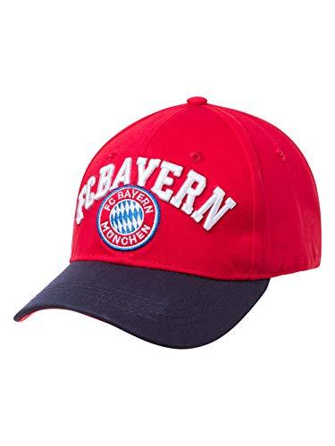 FC Bayern München Baseballcap Fan rot