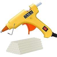 TopElek Upgraded 15W/25W Dual Temp Mini Glue Gun with 30-Pieces Glue Sticks