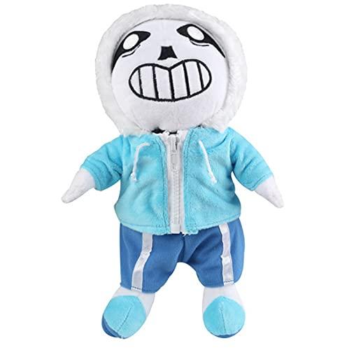 Undertale Sans muñeco de Peluche de 25Cm Juego de Figuras de Anime Undertale muñeco de Peluche Suave Juguetes para niños niños