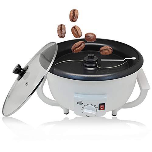 TTFGG Elektrische Kaffeeröster Kaffeebohnen, Haushaltskaffeebohnen Röstmaschine Kaffeebohnenbackenmaschine, 1200W, 500G