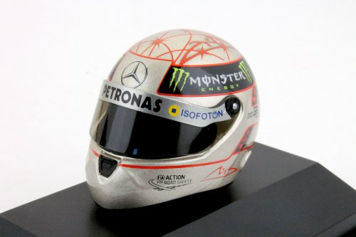 M. Schumacher Mercedes F1 W03 300th GP Spa Formel 1 2012 1:8 Schuberth