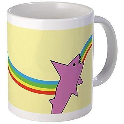 CafePress Jake's Rainbow Shark Coffee Tea Mug