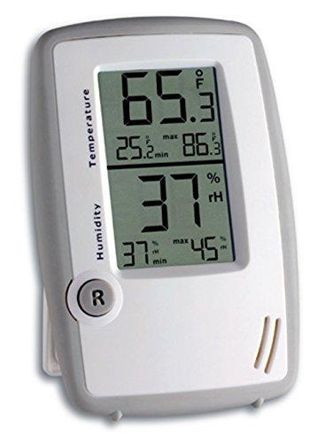 TFA Dostmann Digitales Thermo-Hygrometer, 30.5015.02, Innentemperatur/Luftfeuchtigkeit, gesundes Raumklima