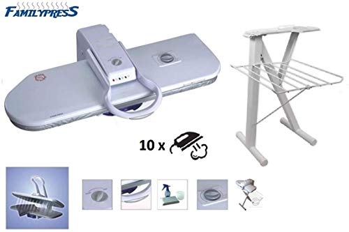 Great Features Of RiCOMA Family Press Ironing Steam Press Area 32x10 for Dry or Steam Iron Pressing,...