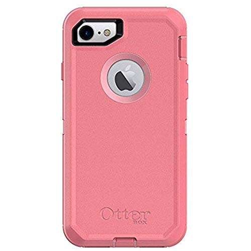 Rugged Protection OtterBox DEFENDER SERIES Case for iPhone 8 and iPhone 7 (NOT Plus) - Case Only - ROSMARINE WAY (ROSMARINE/PIPELINE PINK)