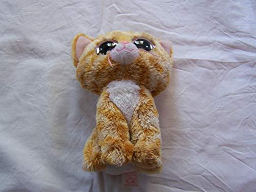 TY 36129 - Tabitha - gescheckte Katze mit Glitzeraugen, Glubschi's, Beanie Boo's, 15 cm