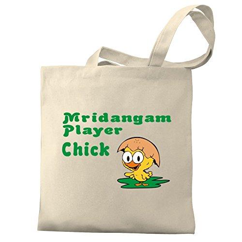 Eddany Mridangam Player Chick Bereich für Taschen
