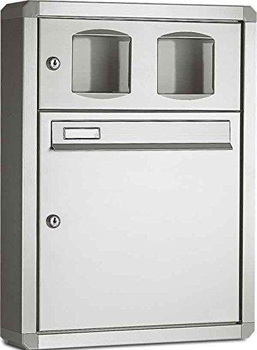 Legrand 338211 AP Boîte aux lettres encastrée Aluminium