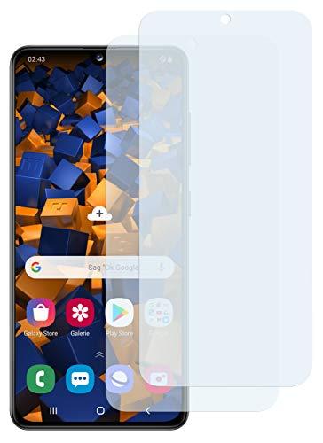 mumbi Schutzfolie kompatibel mit Samsung Galaxy A41 Folie klar, Bildschirmschutzfolie (2x)