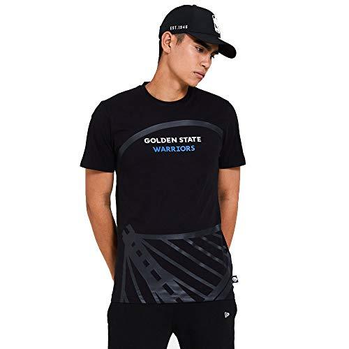 New Era Golden State Warriors NBA T Shirt Jersey Basketball Fanshirt Trikot Schwarz - M