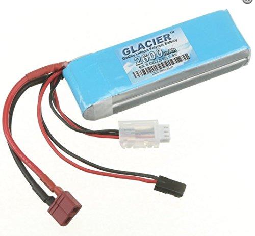 Glacier 2600mAh 2S 7.4V LiPo Receiver Battery