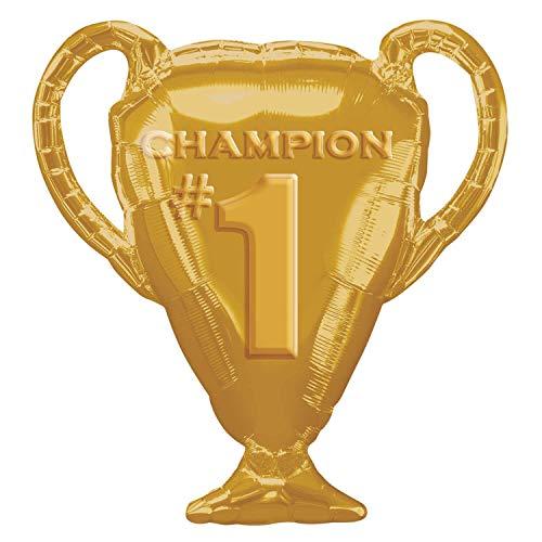 Amscan International 3539301 folie ballonnen/vorm: gouden trofee