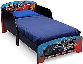 Delta Children Disney Cars Kids-Toddler Wooden Bed, Piece of 1