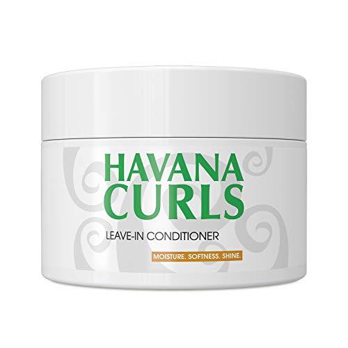 Lockencreme/Haarcreme HAVANA CURLS Leave-in Conditioner 150ml Bio-zertifizierte Naturkosmetik für lockige, krause und trockene Haare - COSMOS Organic