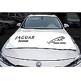 車フロントガラス用サンシェード - 紫外線をブロック サンバイザープロテクター サンシェード 車内を涼しくダメージから守る ジャガーXJ SUV F-PACE I-ペース E-PACE 大型車用