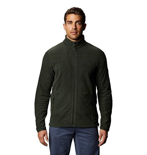 Mountain Hardwear Men's Microchill 2.0 Jacket, Black Sage, Large
