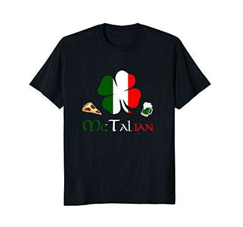 McTalian funny Italian Irish St. Patty's Day T-Shirt