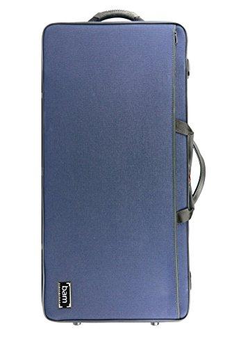 Bam 2006S Classic Navy Blue Violin and Viola Case 16'' 3/8 - 41.5 cm
