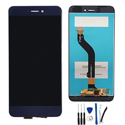 SOMEFUN Pantalla Táctil LCD de Digitalización Asamblea Pantalla de Recambio para Huawei P8 Lite 2017 Pra-LA1 Pra-LX1 Pra-LX3 Azul