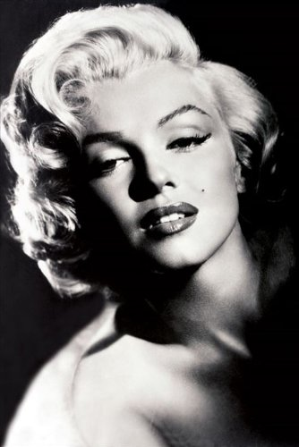 Pyramid Posters Poster, Papier, Marilyn Monroe Glamour, 62 x 91.5 cm, 2