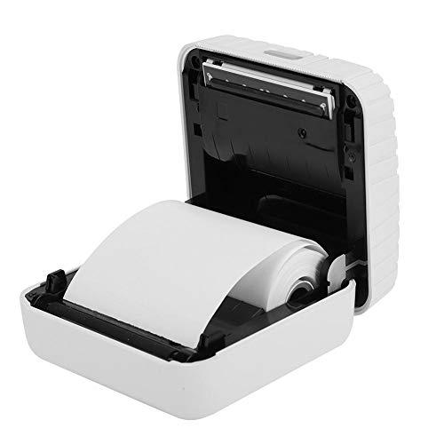 Mini draadloze papieren fotoprinter Draagbare Bluetooth Instant mobiele printer voor iOS/Android-apparaten, tien afdrukmethoden, uw dagelijkse foto's worden opgeslagen als een kostbaar geheugen(wit)