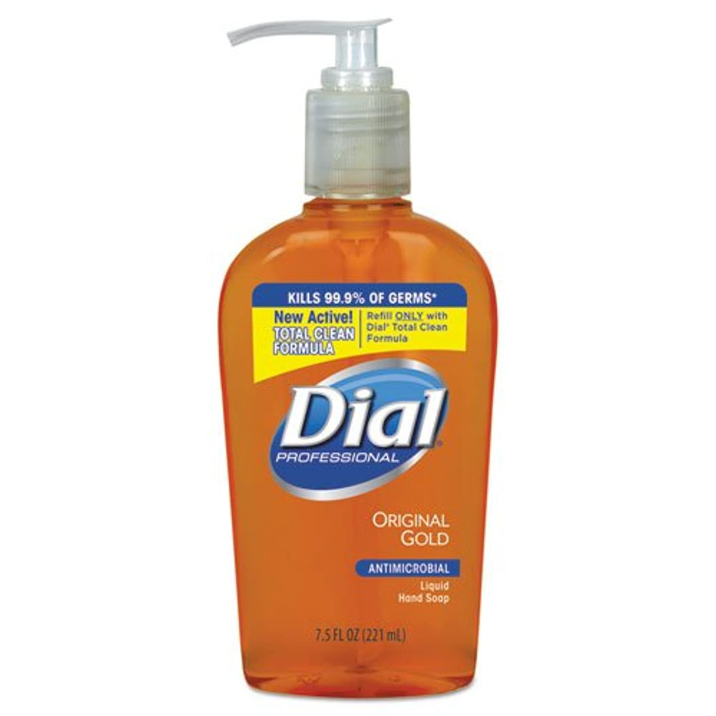 私たちアンカー幽霊ダイヤルProfessional 84014?CT抗菌Liquid Soap、ポンプ、7?–?1?/ 2オンス、12?/ CT、Origゴールド