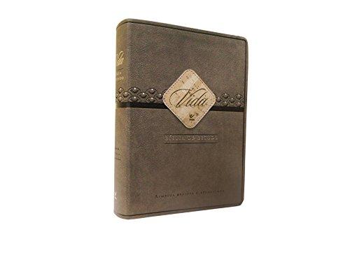 Biblia de Estudo Vida Ara Capa Pu Marrom e Cafe