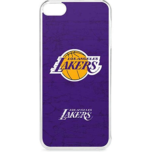 Skinit LeNu MP3 Player Case for iPod Touch 6th Gen - Officially Licensed NBA Los Angeles Lakers Purple Primary Logo Design