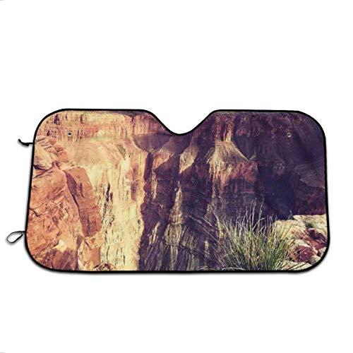 Llynice Exotic Foto de Canyon Rocks Formed Eroding Habita característica del Movimiento geológico, Parasol para Ventana Delantera para Coche