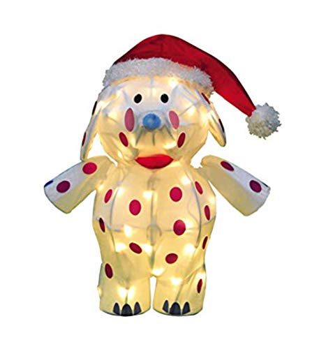 Rudolph Misfit Elephant PreLit Yard Decoration Holiday