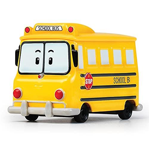 Robocar Poli -Korean Made TV Animation Toy- School Bi (Diecasting/Non-Transformer)