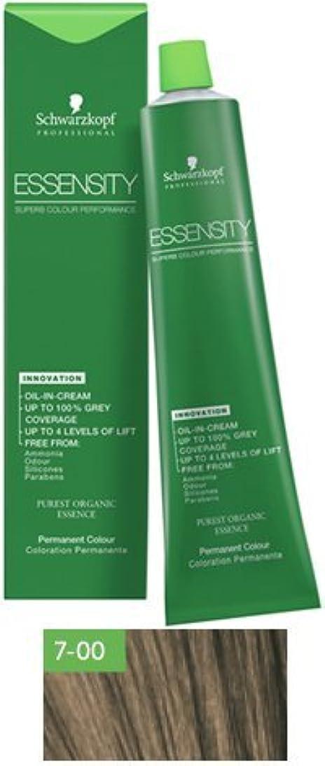 感心する誓約満足できるSchwarzkopf Essensity Permanent Hair Color - 7-00 Medium Blonde Forte by Schwarzkopf Professional [並行輸入品]