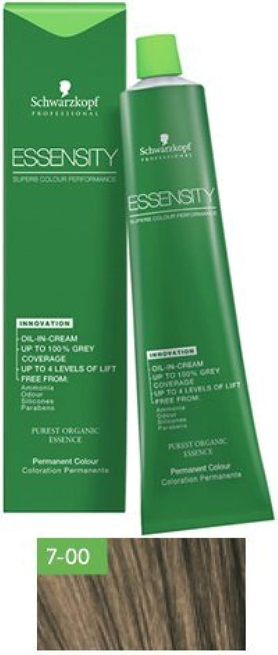 ロシアしないノベルティSchwarzkopf Essensity Permanent Hair Color - 7-00 Medium Blonde Forte by Schwarzkopf Professional [並行輸入品]