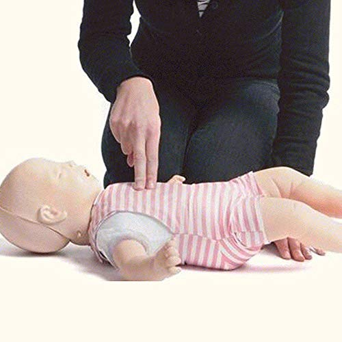 OPNG Bebé Infarto Modelo Maniquíes de reanimación, Infantil Obstrucción de la vía aerea y RCP Modelo Poli-Parada respiratoria Maniobrando Asfixia Primeros Auxilios para Hospital Colegio Educativo