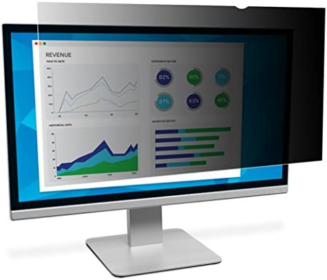 3M Privacy Filter for 21 5 Inch Widescreen Monitor Reversible Gloss Matte Reduces Blue Light product image
