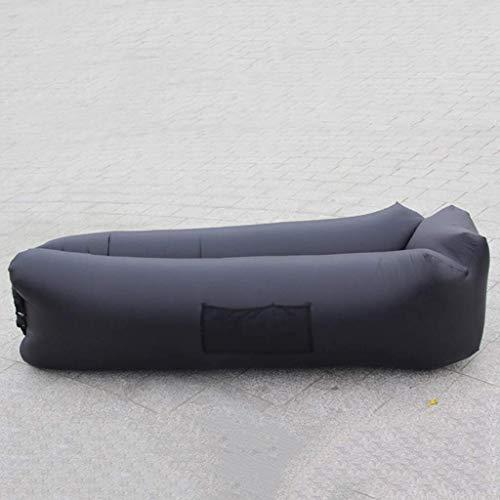 AJH Silla de Playa reclinable Inflable para Exteriores Ropa de Cama Saco de Dormir Saco de Dormir Perezoso Lateral