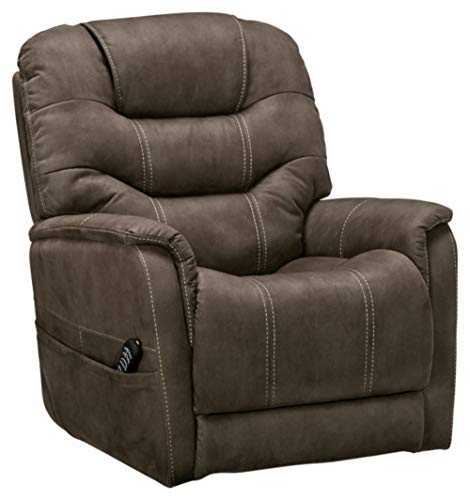 Signature Design by Ashley Ballister Power Lift Recliner Espresso