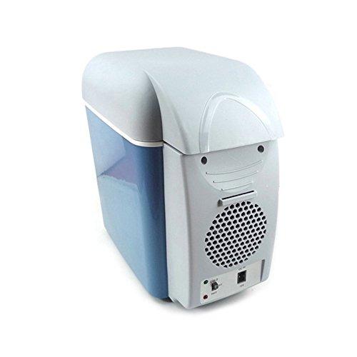 Mini réfrigérateur congélateur Réfrigérateur de voiture - Réfrigérateur de voiture de congélateur de 7.5L Mini réfrigérateur et réchauffeur Réfrigérateurs ménagers miniatures Portable Cold Box