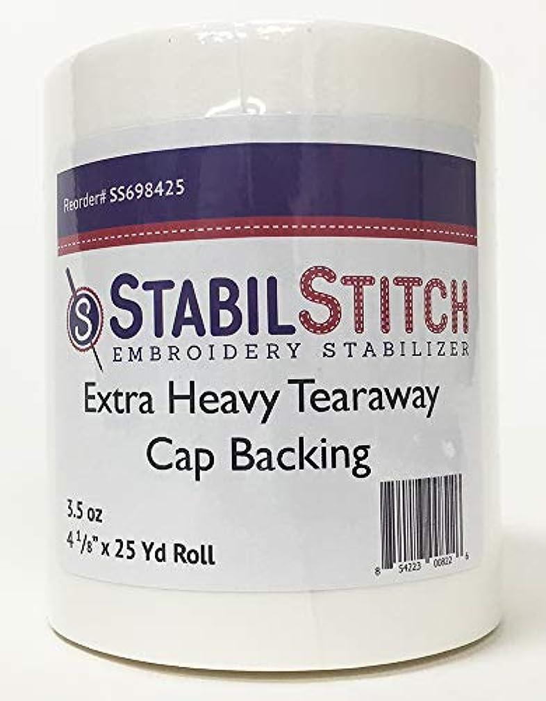 Extra Heavy (3.5 oz.) Tearaway Cap Backing 4 1/8