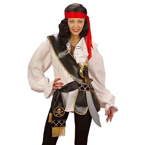 Piraten Schwerthalter Musketier Schwertgürtel Schwert Gürtel Waffengürtel Schärpe Mittelalter Kostüm Accessoire - 2