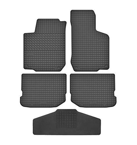 Fußmatten für VW New Beetle 1997-2010 9C / RSi/Cabrio Gummi Gumimatten