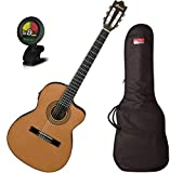 Ibanez GA5TCE Classical Acoustic-Electric Guitar w/ Gig Bag and Tuner!